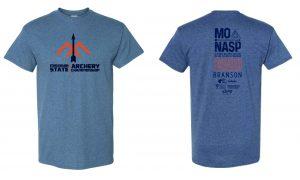 2020 MoNASP State Tournament Tee